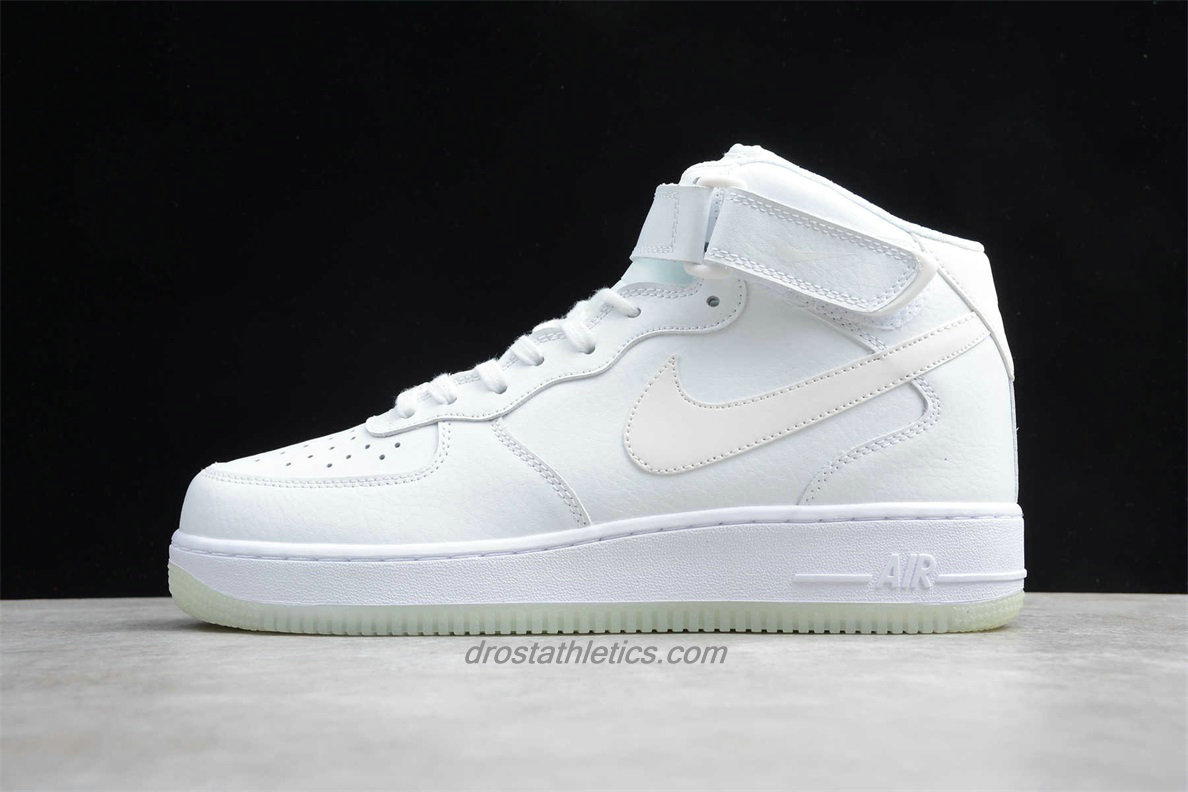 Nike Air Force 1 Mid 07 ESS A02133 101 Unisex White Street Shoes