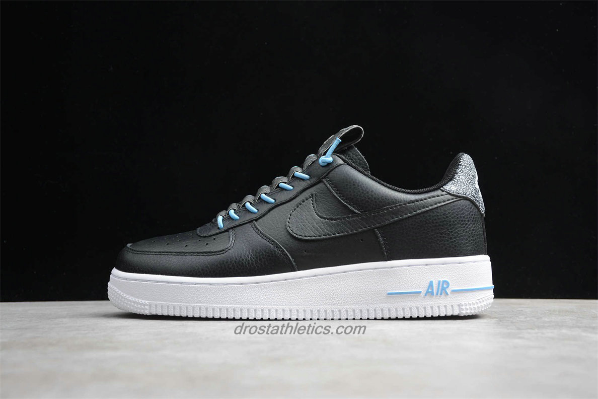 Nike Air Force 1 Low 07 LX 898889015 Unisex Black / White Fashion Sneakers