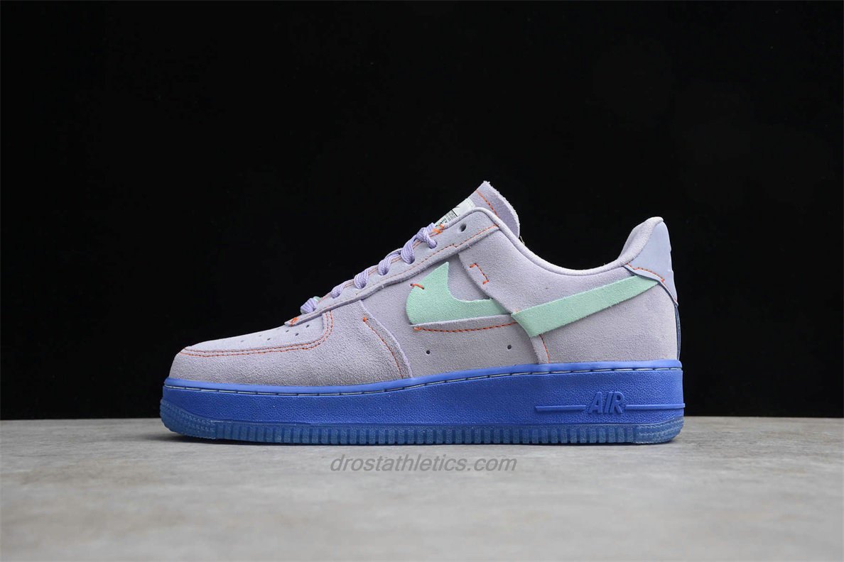 Nike Air Force 1 Low 07 LX CT7358 500 Unisex Purple / Green / Blue Fashion Sneakers