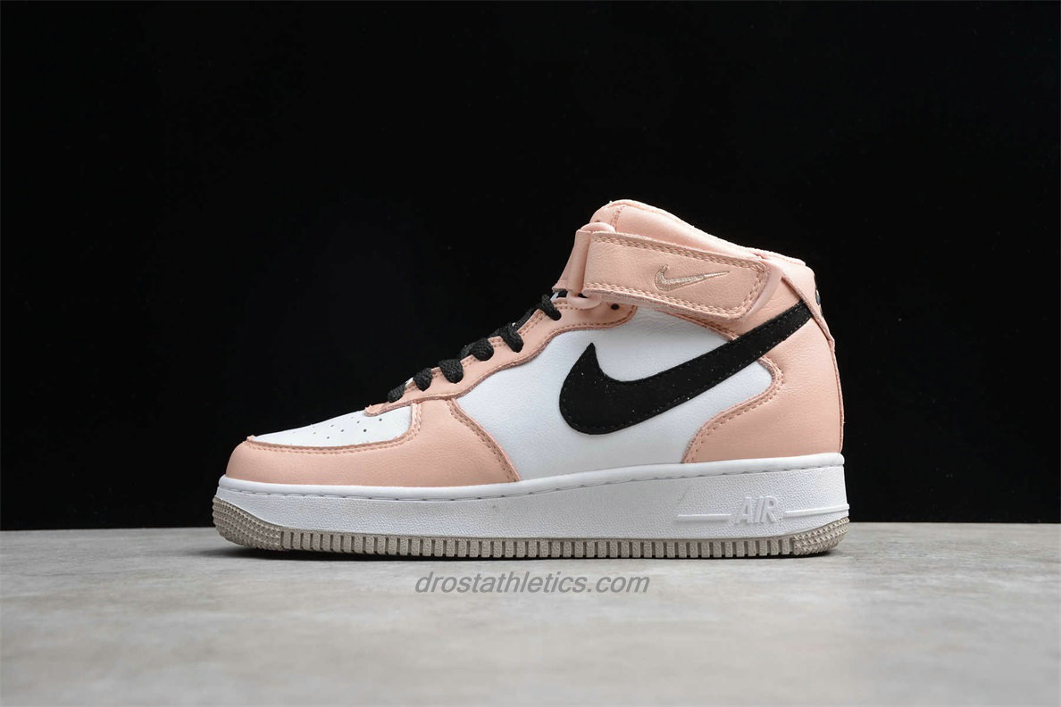 Nike Air Force 1 HI YOHOOD 808790100 Women's White / Light Pink / Black Lifestyle Shoes