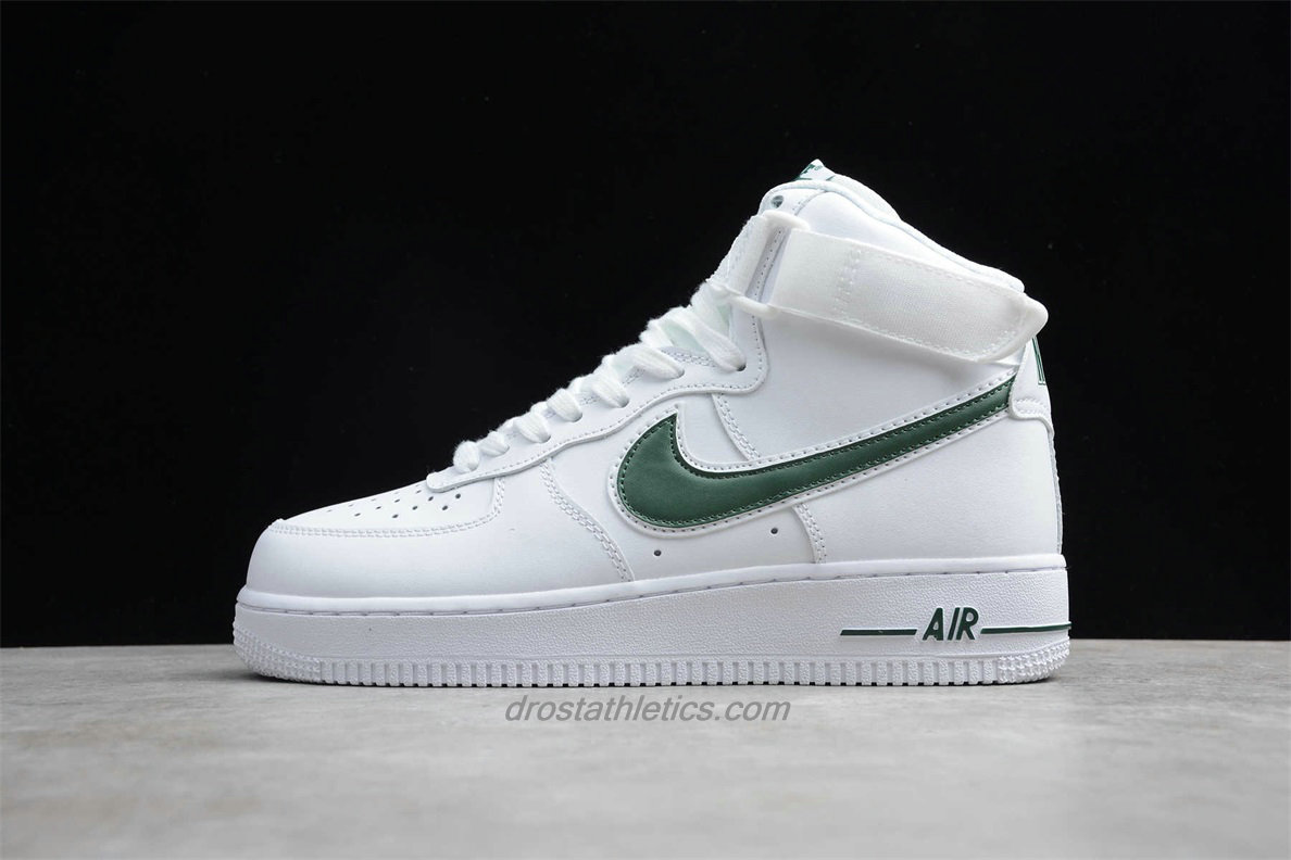 Nike Air Force 1 High 07 3 AT4141 104 Unisex White / Green Lifestyle Shoes
