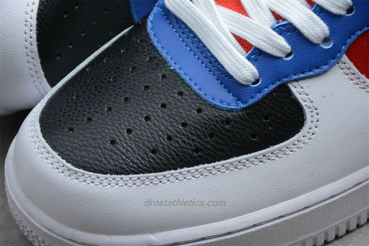 Nike Air Force 1 High 07 WB CJ9178 300 Unisex White / Black / Blue / Red Lifestyle Shoes