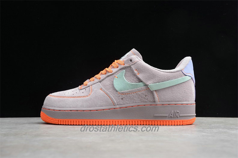 Nike Air Force 1 07 Low LX Suede CT7358 600 Women's Light Pink / Purple / Orange Fashion Sneakers