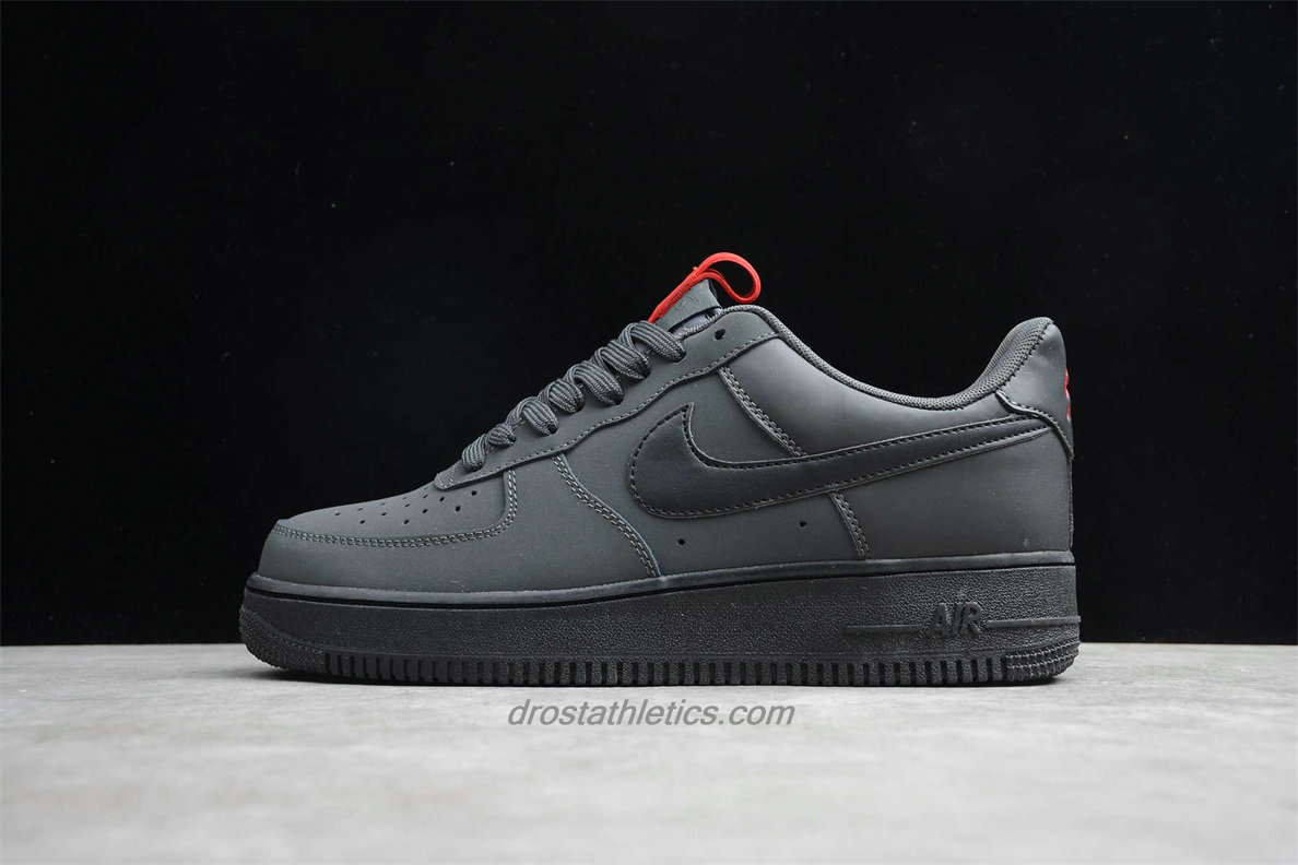 Nike Air Force 1 Low 07 CI0059 001 Men's Dark Grey / Black Fashion Sneakers