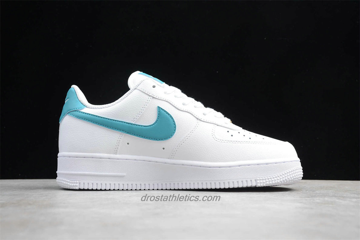 Nike Air Force 1 07 Low AH0287 109 Unisex White / Light Blue Fashion Sneakers