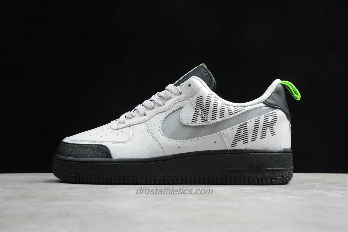 Nike Air Force 1 Low 07 LV8 2 BQ4421 001 Unisex White / Grey / Black Fashion Sneakers