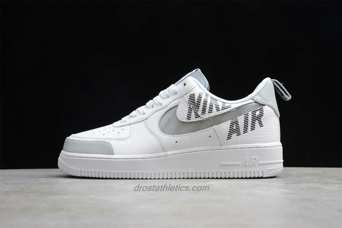 Nike Air Force 1 Low 07 LV8 2 BQ4421 100 Unisex White / Light Grey Fashion Sneakers
