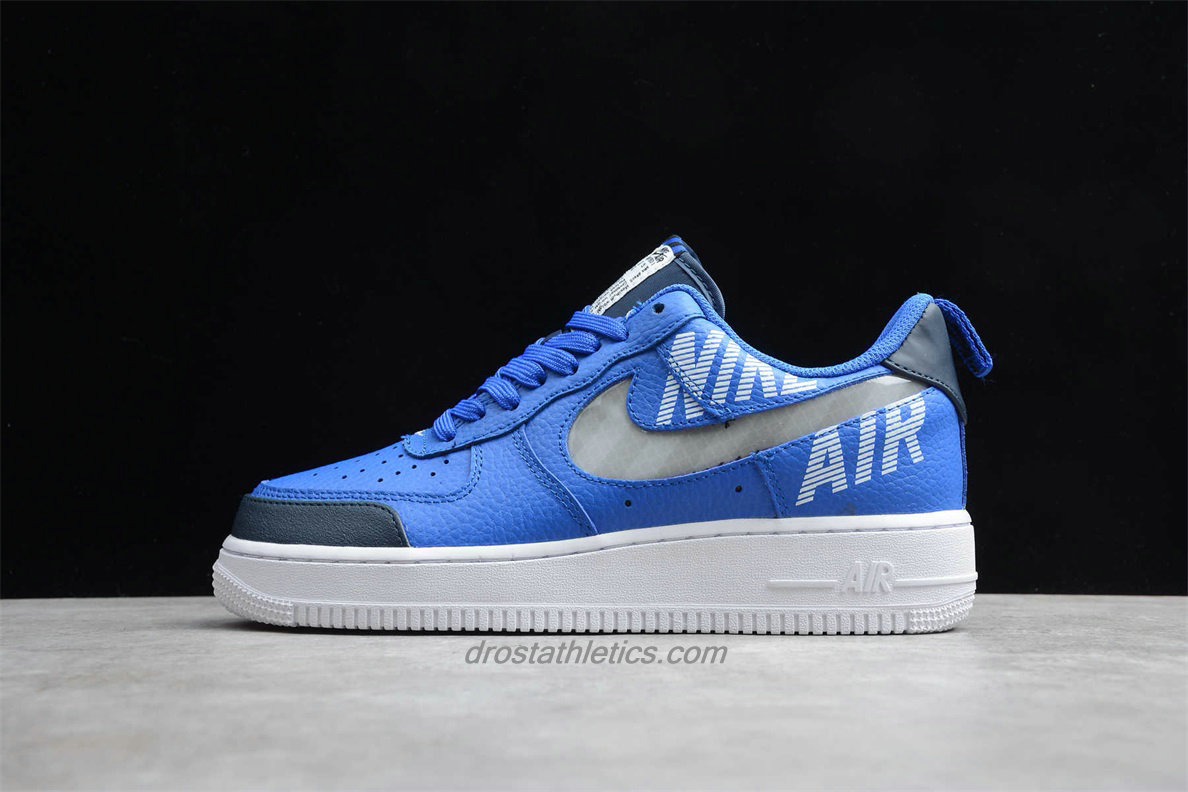Nike Air Force 1 Low 07 LV8 2 BQ4421 400 Unisex Blue / White Fashion Sneakers