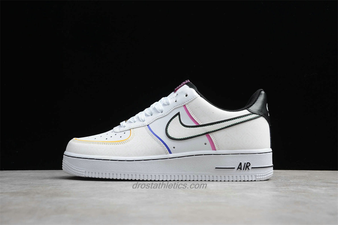 Nike Air Force 1 Low 07 PRM CT1138 100 Unisex White / Black Fashion Sneakers