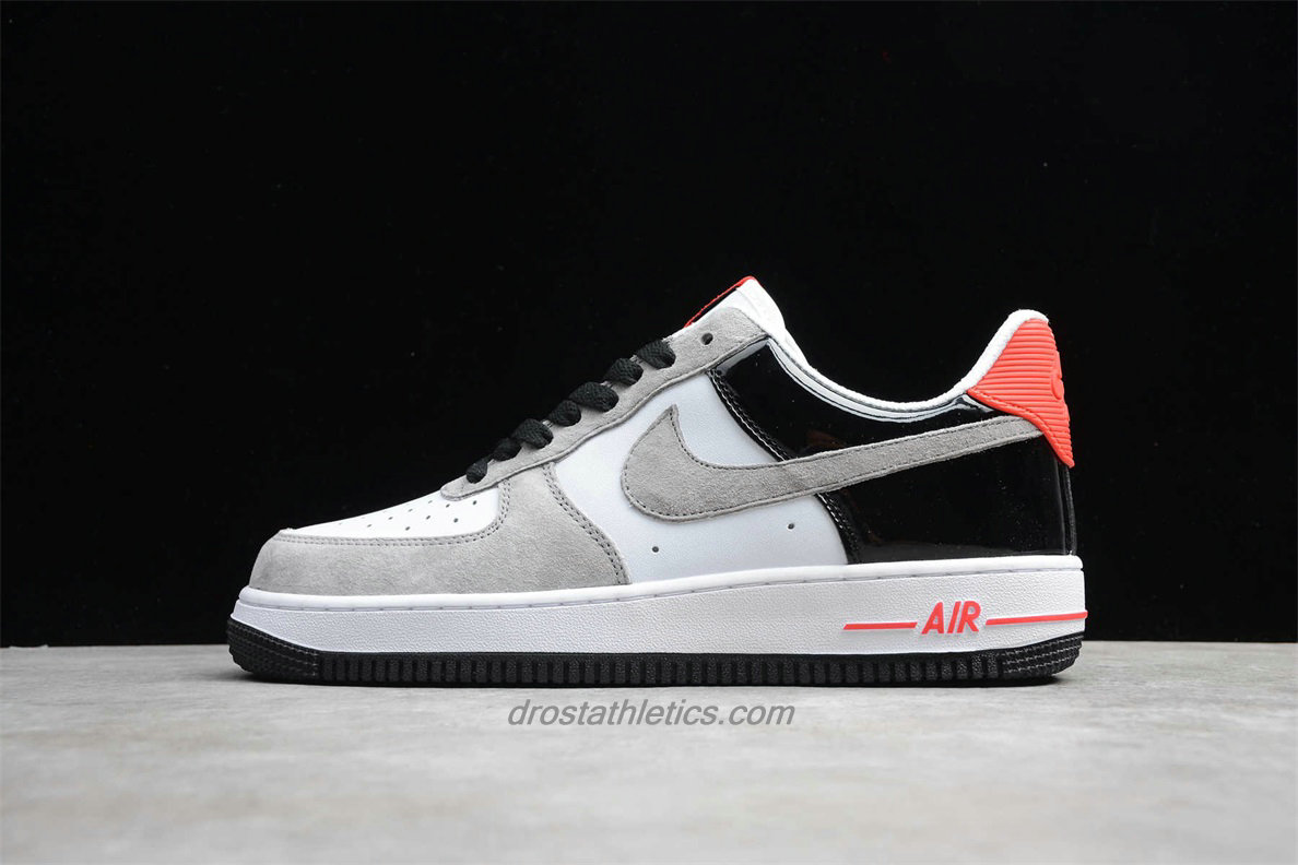 Nike Air Force 1 Low 07 PRM QS 318775101 Unisex Sand / White / Black / Red Fashion Sneakers
