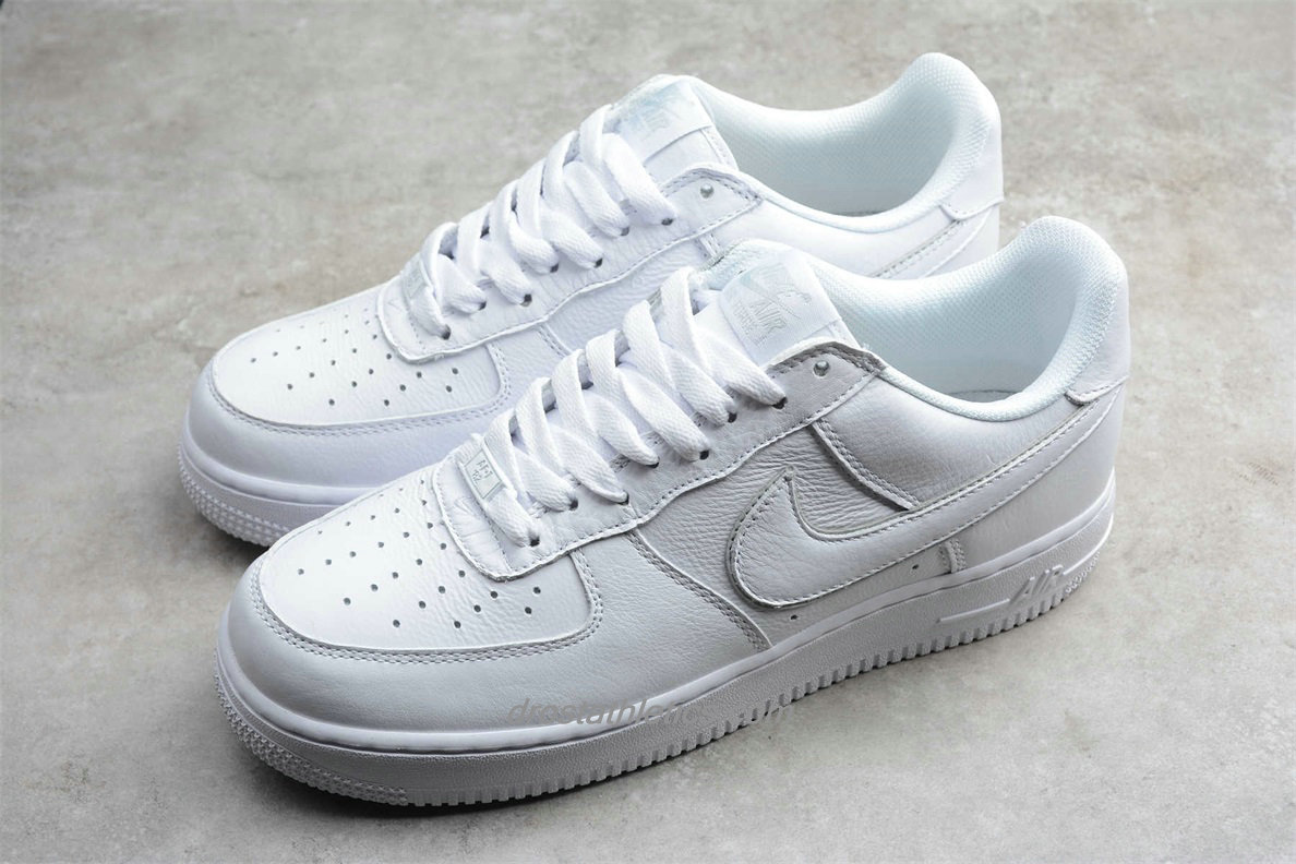 Nike Air Force 1 Low NikeConnect QS NYC AO2457 100 Men's White Fashion Sneakers