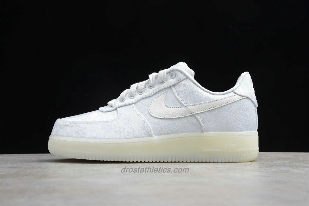 Nike Air Force 1 Low PRM CLOT AO9286 100 Unisex White Fashion Sneakers