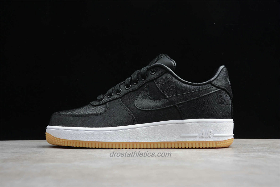 Nike Air Force 1 Low PRM CLOT CZ3986 001 Unisex Black Fashion Sneakers