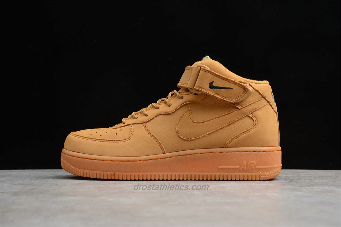 Nike Air Force 1 Mid 07 PRM QS 715889200 Unisex Brown Street Shoes